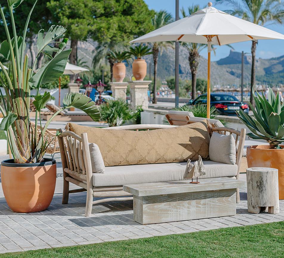 experiencia en diseño en el sector de hotelero-spas terrazas piscinas bares y todo el sector hotelero